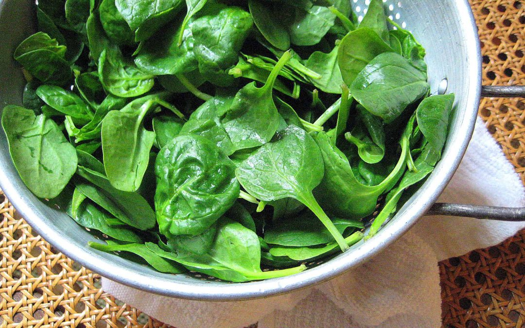 Extreme Low Calorie Recipe: Spinach Salad
