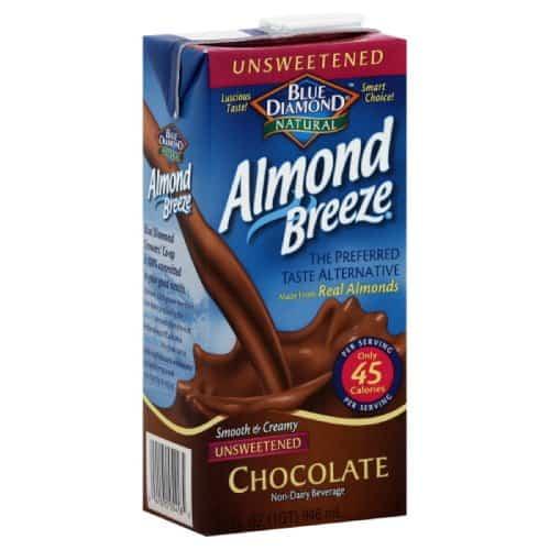 Blue Diamond Breeze Unsweetened Chocolate
