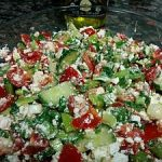 Warm Beet and Feta Salad