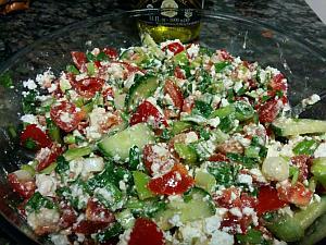 Warm Beet and Feta Salad