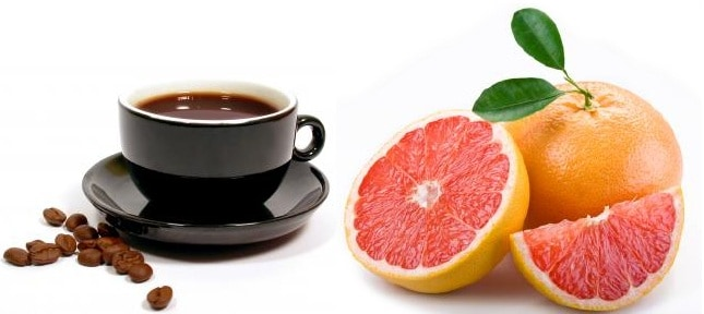 Grapefruit and Coffee Fat Burning Mix