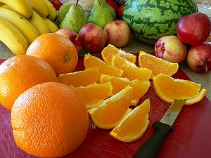 Fruit is great as a snack because the sweetness can hit your sweet tooth cravings.