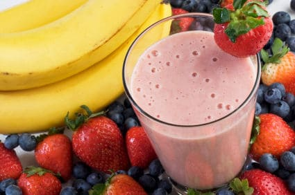 smoothie for 5:2 fasting day breakfast