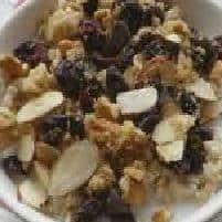 Raisin and Cranberry Porridge