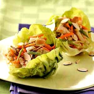 Low calorie Turkey and Lettuce Cups
