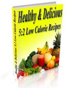 Healthy & Delicious 5.2 Diet Low Calorie Recipes Book