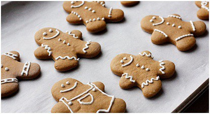 Gingerbread Cookies low-calorie recipe Christmas treat