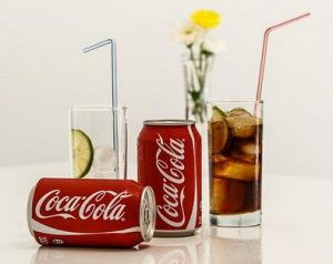 That one can of soda is just a little less than a third of your daily intake when following the 5:2 diet.