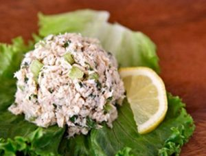 tuna white salad