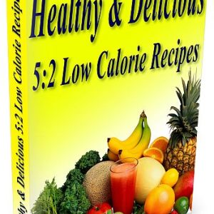 The Healthy & Delicious 5:2 Low Calorie recipe book is full of tasty recipes.