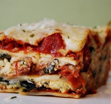 Low-Calorie Recipe: Lasagna at 300 Calories