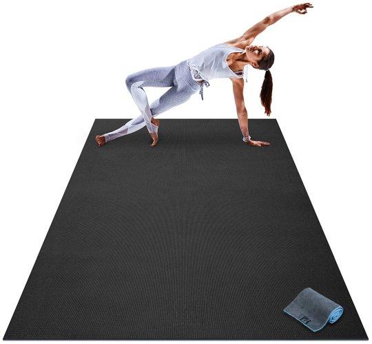 Premium Large Yoga Mat Extra Thick