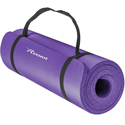 Reehut ½-Inch Extra Thick High-Density NBR Exercise Yoga Mat