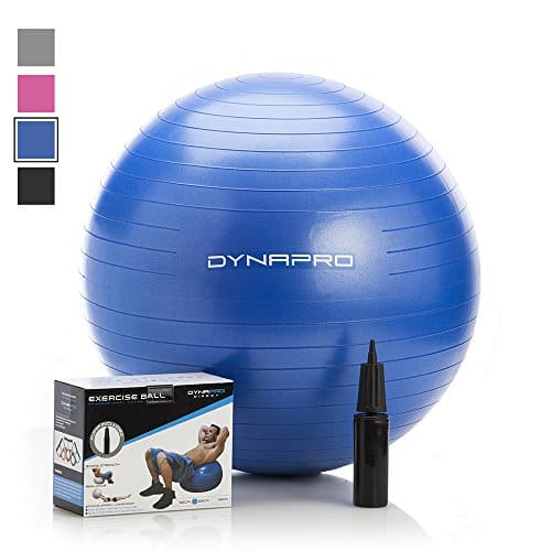 Exercise Ball with Pump by DYNAPRO