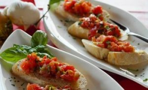 Bruschetta with Warm Tomatoes Meal Plan